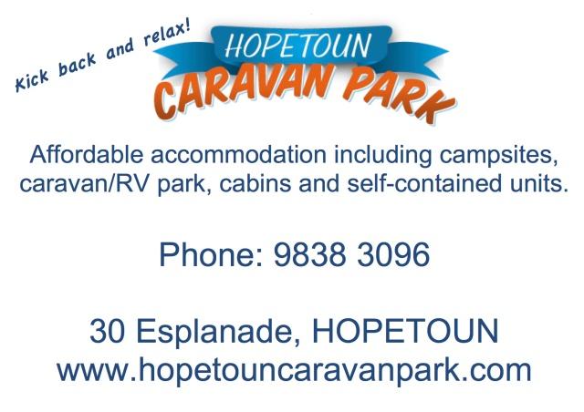 hopetoun caravan park
