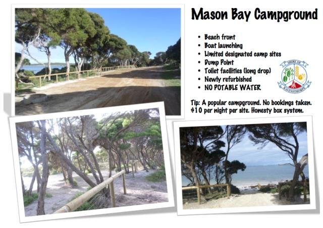 mason bay camp poster